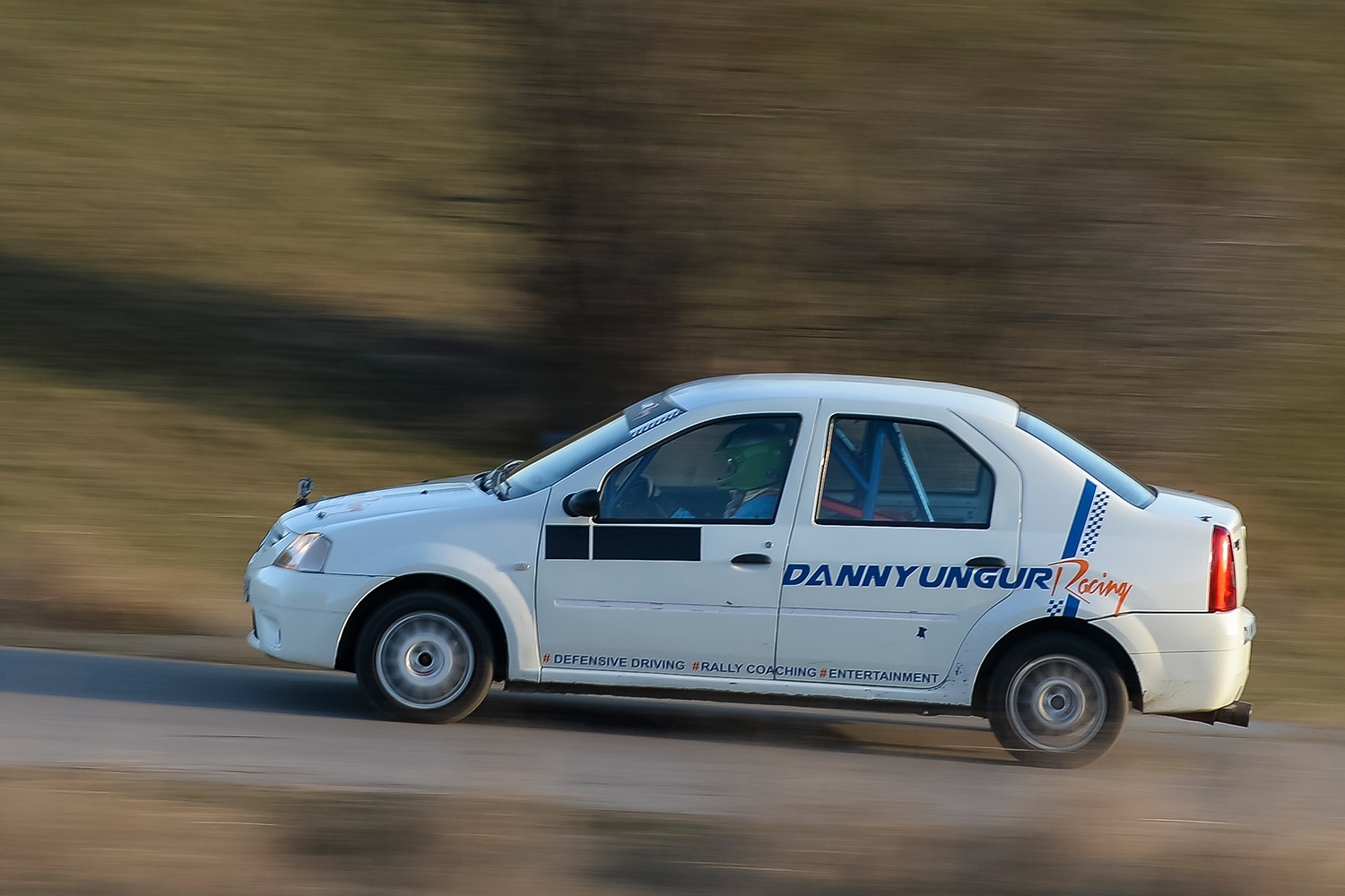 Dacia Logan rally specification